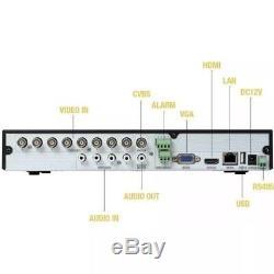 TVT SIMILAR (Q-SEE QTH98-2) 8 Channel DVR HD 1080p 2TB TB PURPLE MULTIFORMATO