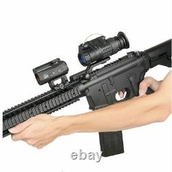 Tacitcal digital PVS-14 night vision sight rifle scope mount on the helmet for