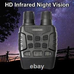 Tracker Night Vision Goggle Binoculars 32GB TF Card 5X HD Digital Infrared Zoom