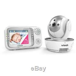Vtech 2.8 Video/Audio Pan/Tilt Mountable Safety Night Vision Baby/Kids Monitor