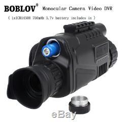 WG-37 5x40 Handheld Digital IR NV Night Vision Monocular Takes Photos+Video A03