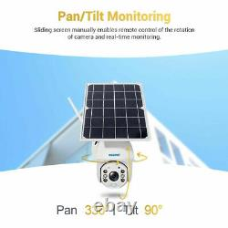 WIFI 1080P Solar Power PTZ IP Camera Wireless Outdoor Security CCTV Night Vision