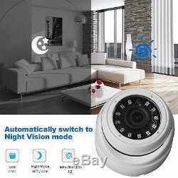 1080n 16ch Dvr Enregistrement Cctv Home Security Ir-cut 8dome Caméra H. 264 Kit Hd Système