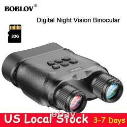 1080p 32 Go De Vision De Nuit Numérique Jumelles Infrarouge Ir Caméra 2.3 LCD