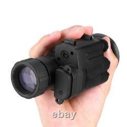 1pcs Digital Hd Infrared Ir Night Vision Hunting Monocular Helmet Telescope 500m