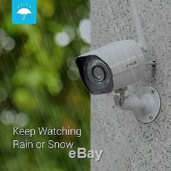 2 Wifi Camaras De Seguridad Inteligente Sistema Inalambrico Con Vision Nocturna