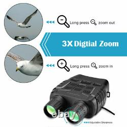 32go Vidéo Numérique Ir De Vision Nocturne Chasse Jumelles Portée Camera Zoom Recorder
