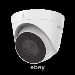 4k Hikvision Ip Poe 8mp Hilook Camera Cctv Construit Dans MIC Dome Turret Night Vision
