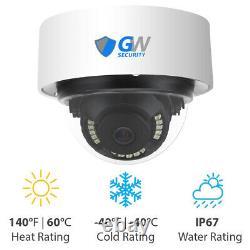 4k Nvr 8mp Starlight Microphone Extérieur Intérieur Poe Ip 4k Système De Caméra De Sécurité