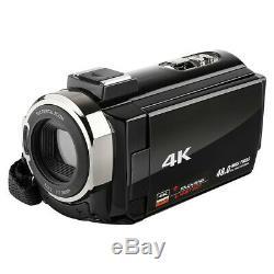 4k Wifi 1080p Hd 48mp 16x Caméscope Caméra Vidéo Numérique DV Night Vision Us