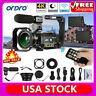 4k Wifi Digital Camera Dv Camcorder 24mp 30x Zoom Ir Enregistreur Vidéo Avec Micro Supplémentaire