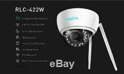 5mp Sans Fil Wifi Autofocus Caméra Ip Zoom Accueil Caméra De Sécurité Reolink Rlc-422w