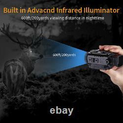 5x18mm Digital Monocular Infrared 8go Dvr Ir Night Vision Telescope Portable Etats-unis
