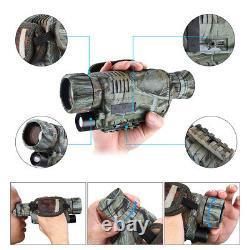 5x40 Caméra De Télescope Monoculaire De Vision Nocturne Infrarouge Numérique De 8 Go