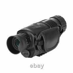 5x40 Caméra Infrarouge De Vision Nocturne Monoculaire Appareil De Navigation Du Télescope Numérique