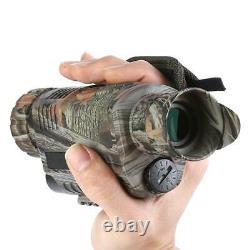 5x40 Infrared Ir Digital Vision Hunting Monocular Telescope Image Vidéo