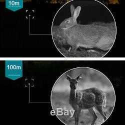 5x40 Infrarouge Ir De Vision Nocturne Hunting Télescope Monoculaire Caméra Vidéo Numérique