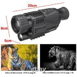 5x40 Infrarouge Ir Night Vision Hunting Monoculaire Telescope Digital Vidéo