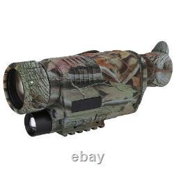 5x40 Infrarouge Ir Vision Nocturne Caméra Vidéo Télescope Monoculaire Portée 200m Ue