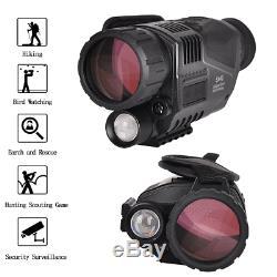 5x40mm Numérique Monoculaire De Vision Nocturne Infrarouge Caméra Ir Avec 1,5 Pouces Tft LCD