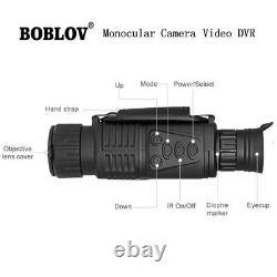 5x 40mm Numérique Infrarouge De Vision Nocturne 200m Plage Prend Photo Video Dvr