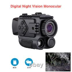 5x Digital Infrared Night Vision Monocular Auto Ir Wild Scouting Riflescope Royaume-uni