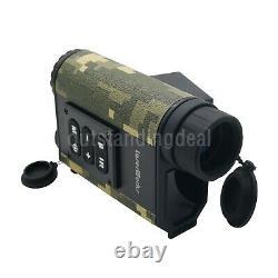6x Chasse Binoculaire Laser Range Finder Digital Night Vision Ir Nv Télescope Os1