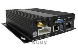 720p Ahd 4ch Gps Car Vehicle Dvr Mdvr Rear View Cctv Security Camera 7 Moniteur