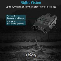 720p Vidéo Numérique De Vision Nocturne Infrarouge De Chasse Jumelles Portée Ir Zoom Caméra