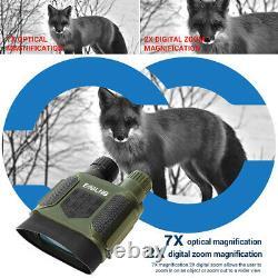 7x31 Jumelles De Vision Nocturne De La Lunette Ir Avec Une Carte Tf Tf 2 Tft LCD 32g Pour La Chasse