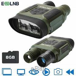 7x31 Night Vision Binoculaire Numérique Infrarouge De Vision Nocturne Appareil Photo Hd