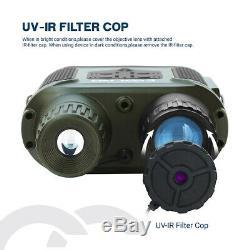 7x31 Numérique Night Vision Binocular Portée Avec 2 Tft LCD Et 32g Tf Carte