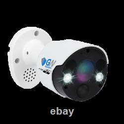 8 Canal 4k Nvr 8 X 8mp Full Color 4k Microphone Poe Ip Security Camera System