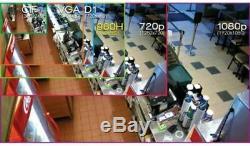8 Canaux Xvr Penta-brid 1080p Ip Vidéo Dvr Nvr Recorder Oem Dahua CVI Tvi Ahd