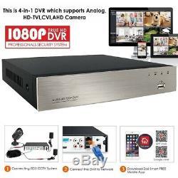 8ch Dvr Hd 1080p 5-en-1 H. 264 Caméra De Sécurité Cctv Enregistreur Vidéo Numérique Hdmi
