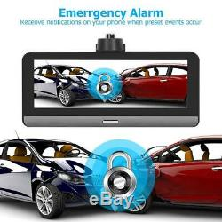 8in 3g / 4g Hd 1080p Voiture Dvr Caméra Dash Gps Double Lentille Android 5.1 Video Recorder