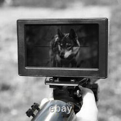 Air Rifle Ir Night Vision Scope Sight Digital Hunting Camera Mount Thermal Image