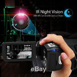 Andoer 4k Ultra Hd Wifi Caméra Vidéo Numérique 16x Ir Night Vision Caméscope V2c2