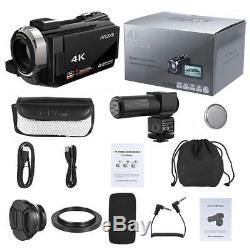 Andoer Wifi 4k Hd 1080p 48mp 16x Zoom 3 LCD Caméscope Numérique DV