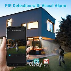 Annke 4pcs 5mp Dome Ultra Hd Secuirty Camera Outdoor Indoor Pir Night Vision 2.8