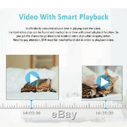 Anran 1080p Système De Caméra De Sécurité 1tb Disque Dur 8ch Accueil Sans Fil Wifi Ir Cttv