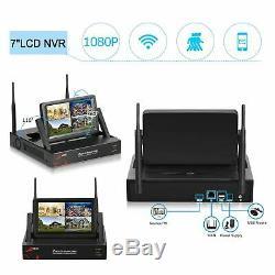 Anran 1080p Wifi Caméra Système De Sécurité Extérieur Cctv 7monitor 1tb Accueil Sans Fil