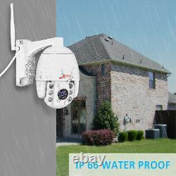 Anran 5mp Home Security Camera System Wireless Pan/tilt Cctv 2way Audio Outdoor
