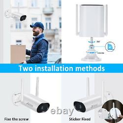 Anran Home Security Camera System Wireless 3mp 8ch Outdoor 1 To Hard Drive Audio