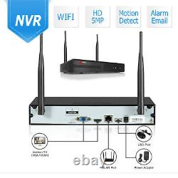Anran Home Security Camera System Wireless 5mp Cctv Outdoor Wifi 8ch Nvr 2tb Hdd