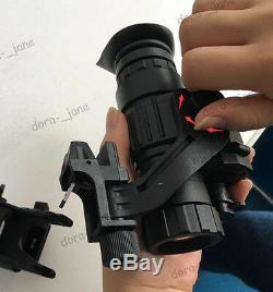 Aoruey Armée Casque Infrarouge Avec Hd Vision Nocturne Télescope Monoculaire Numérique Ir