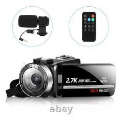 Appareil Photo Numérique Wifi Camcorder Full 1520p Vlog 30mp 16x Zoom 3.0 Vision Nocturne