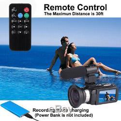 Appareil Photo Numérique Wifi Caméscope Full Hd 1520p Vlog 30mp 16x Zoom 3.0 Vision Nocturne