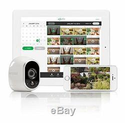 Arlo Système De Sécurité, 2 Hd-fil Gratuit Caméras Intérieur / Extérieur Vision Nocturne Vms3230