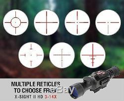 Atn 3-14x Vision Nocturne Numérique Portée Du Fusil Chasse Tactique Vidéo Range Range